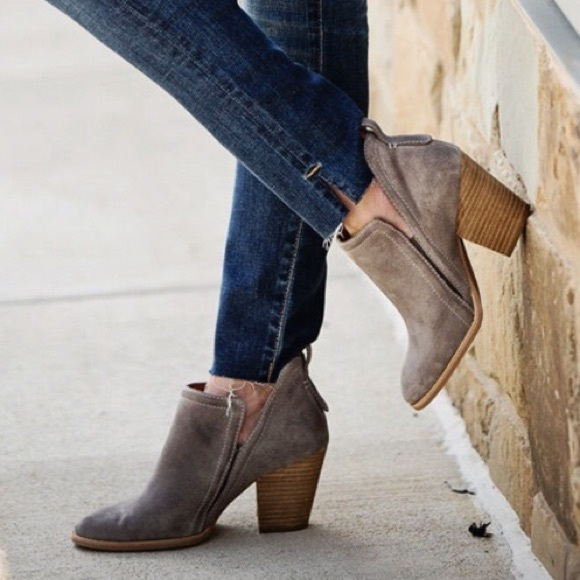Jeffrey Campbell Rosalee Taupe Suede